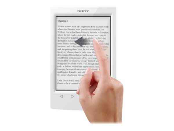 E-book Sony Prs-t2 Blanco 6 Wifi   Funda