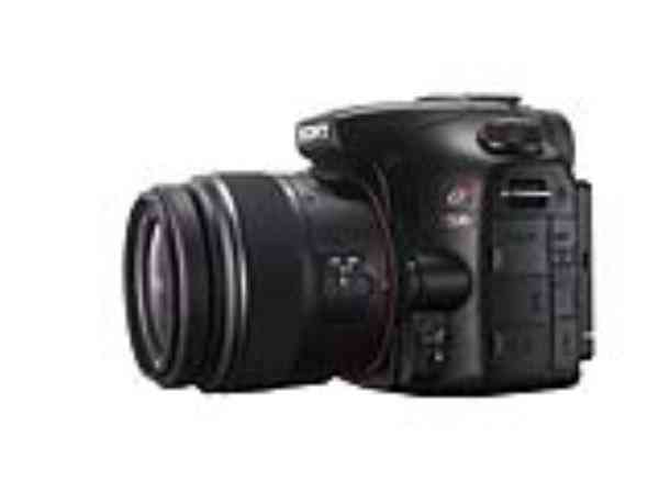 Camara Sony Alpha Slt-a57 16mp 3  18-55 55-200