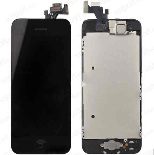 Ver REPUESTO IPHONE 5 LCD TOUCH NEGRO