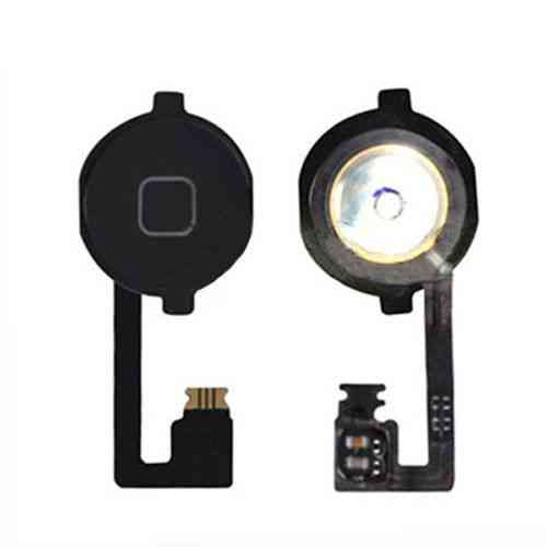 Ver REPUESTO IPHONE 4S BOTON HOME CON FLEX NEGRO
