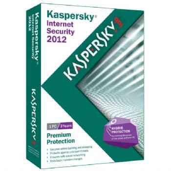Antivirus Kaspersky 2012 Internet Security 2 Usuar