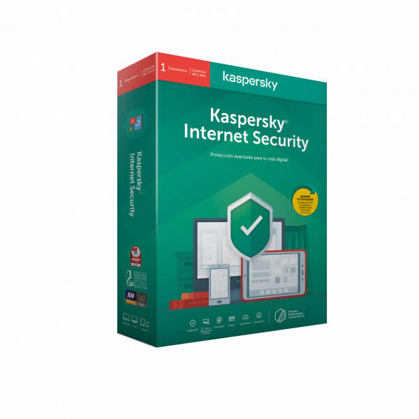 ANTIVIRUS KASPERSKY INTER SECURITY 1U ATTACH 2020