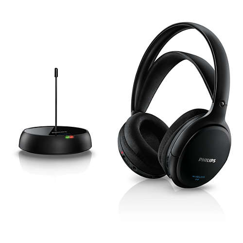 Ver PHILIPS SHC5200 INALAMBRICO FM