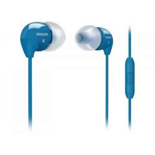 Auricular Philips She3595bl Azul Boton Intra