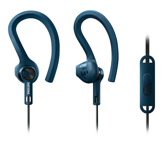 Ver AURICULAR PHILIPS SHQ1405BL DEPORTIVO ACTION FIT