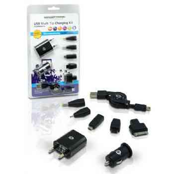 Cable Usb Cargador Conceptronic Multiples Tips