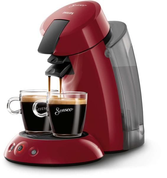 CAFETERA PHILIPS HD7818 SENSEO ROJA XL
