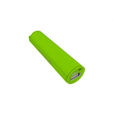 Ver CARGADOR USB POWER BANK WOXTER 2600SR VERDE
