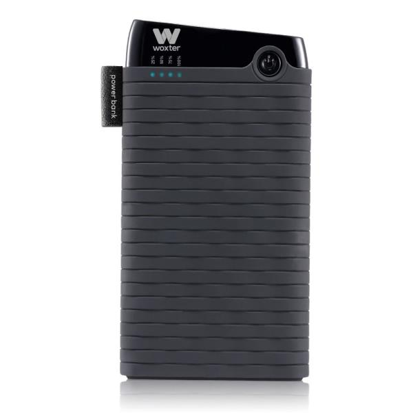 Ver CARGADOR USB POWER BANK WOXTER 6000SR NEGRO