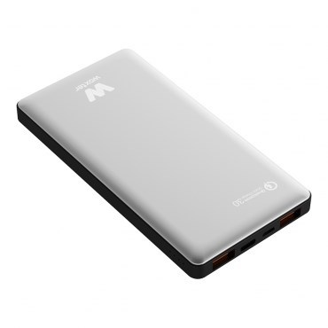 Ver CARGADOR USB POWER BANK WOXTER QC 16000 SILVER