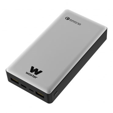 CARGADOR USB POWER BANK WOXTER QC 20500 SILVER