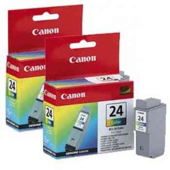 Ver CARTUCHO CANON BCI-24CL COLOR  PACK2U