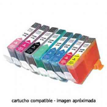 Cartucho Compatible Con Hp 338 C8765ee Negro Hq