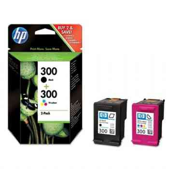 Ver CARTUCHO HP 300 CN637EE PACK NEGRO Y COLOR