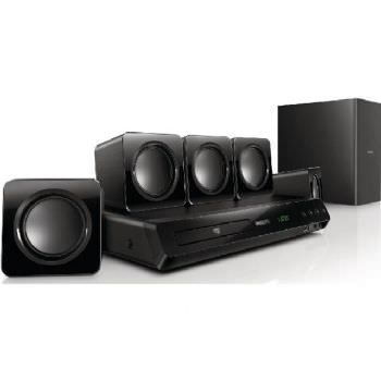 Ver DVD PHILIPS HTD3510 USB HDMI HOME CINEMA 5 1