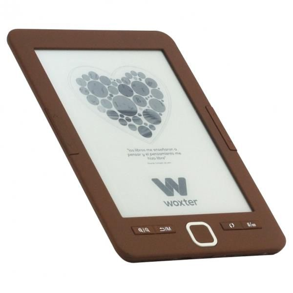 Ver E BOOK WOXTER SCRIBA 195 6 4GB E INK CHOCOLATE