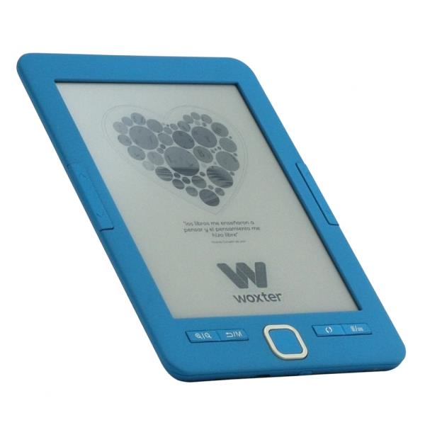 Ebook Woxter Scriba 4gb E Ink Azul