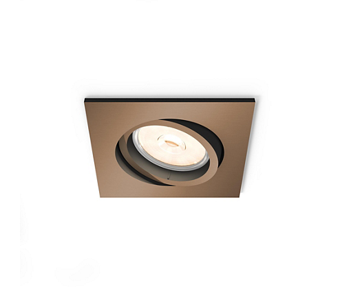 FOCO EMPOTRABLE PHILIPS DOMEGAL RECESSED COPPER