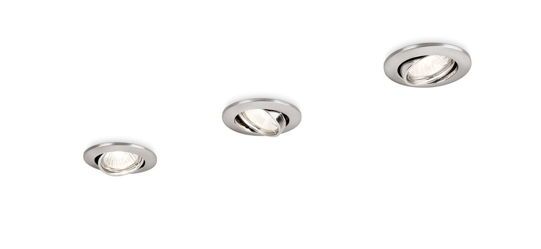 FOCO EMPOTRABLE PHILIPS ENIF RECESSED NICKEL 3XNW