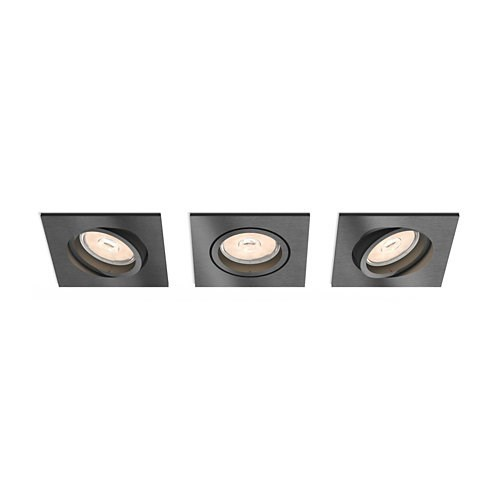 FOCO EMPOTRABLE PHILIPS RECESSED GREY 3XNW