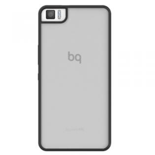 Ver FUNDA BQ AQUARIS M5 5 BLACK GUMMY