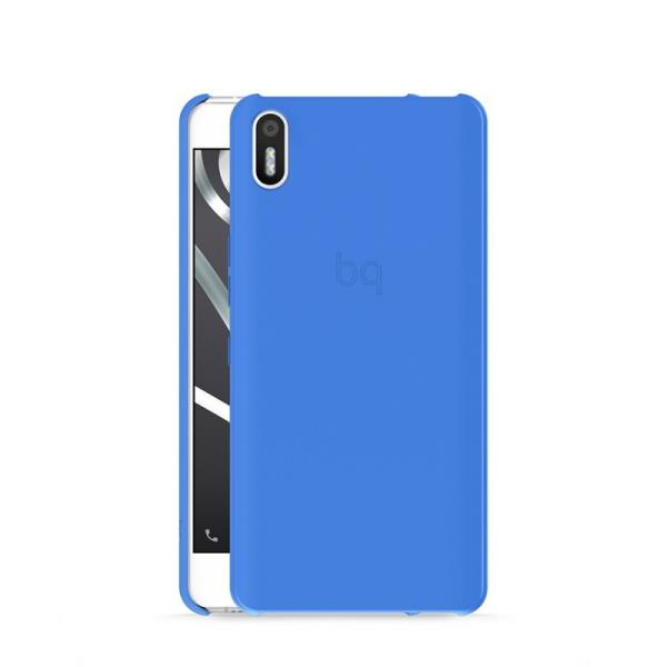 Ver FUNDA BQ AQUARIS X5 BLUE CANDY