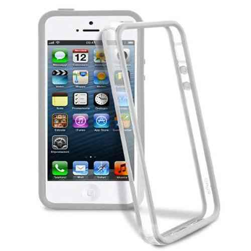 Funda Bumper Iphone 5 Blanco