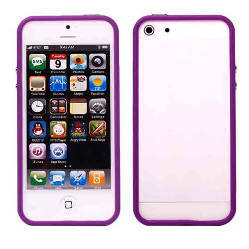 Funda Bumper Iphone 5 Morada