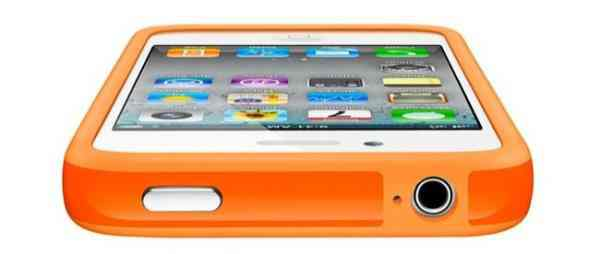 Funda Bumper Iphone 5 Naranja
