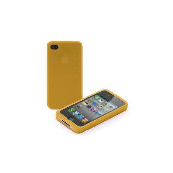 Funda Iphone 4g Silicona Naranja