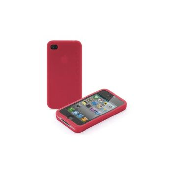 Funda Iphone 4g Silicona Rojo