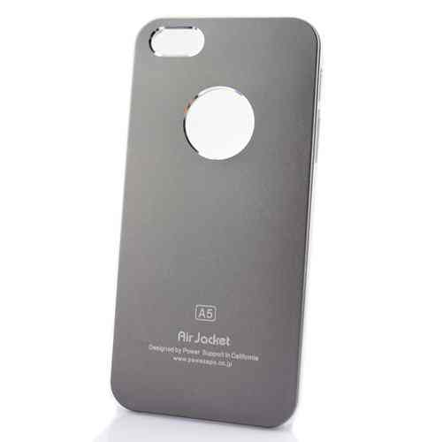 Funda Iphone 5 Air Jacket Gris