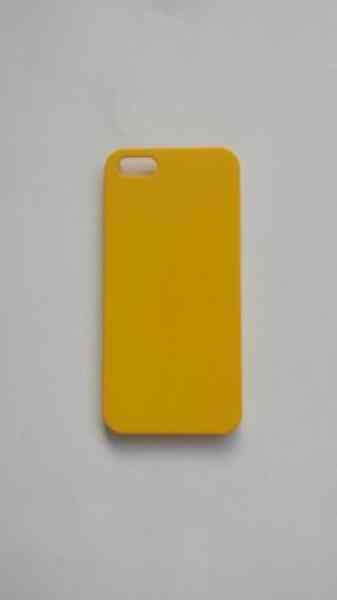 Funda Iphone 5 Luminiscente Amarilla Mate