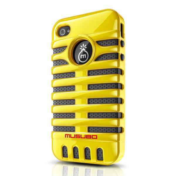 Funda Iphone 5 Musubo Elvis Amarilla