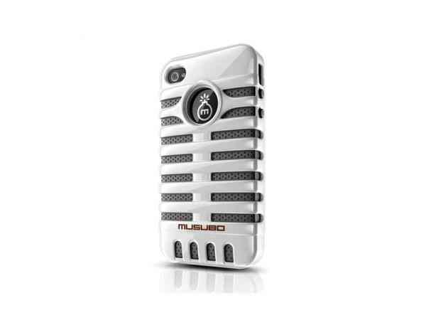 Funda Iphone 5 Musubo Elvis Blanca