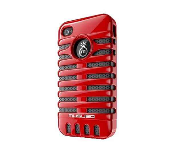Funda Iphone 5 Musubo Elvis Roja
