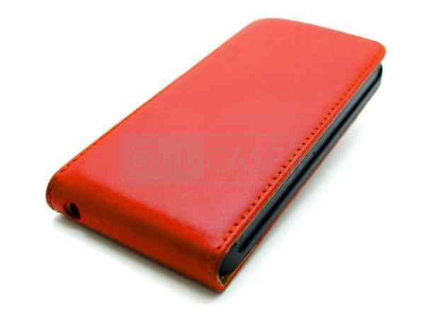 Funda Iphone 5 Tipo Libro Roja