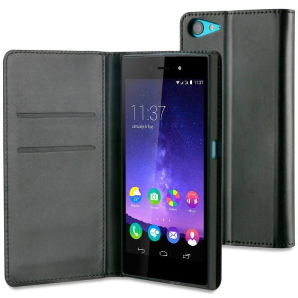 FUNDA MFW WALLET FOLIO NEGRO WIKO HIGHWAY STAR