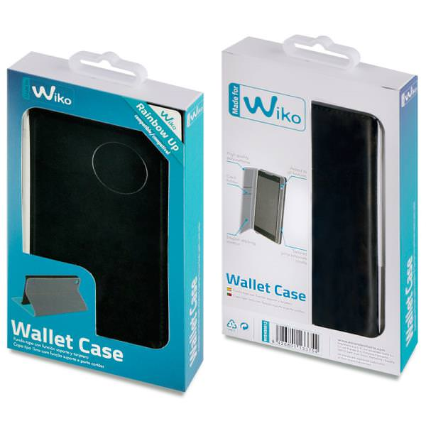 FUNDA MFW WALLET FOLIO NEGRO WIKO RAIPORTATILOW UP