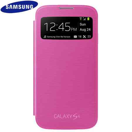 Funda Sam Galaxy S4 S View Rosa