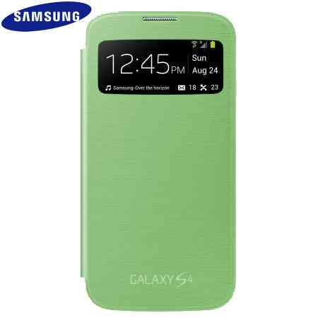 Funda Sam Galaxy S4 S View Verde