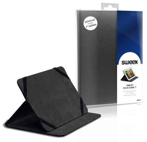 Funda Sweex Tablet 7 Folio Negra