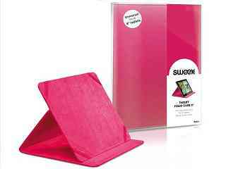 Funda Sweex Tablet 8 Folio Rosa