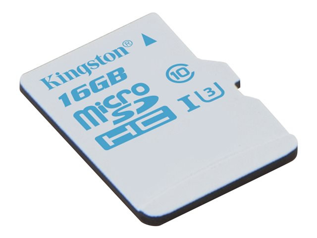 Ver Kingston Technology microSD Action Camera UHS I U3 16GB 16GB MicroSD UHS I Class 3