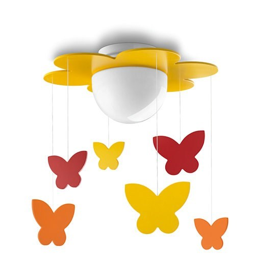 LAMPARA TECHO PHILIPS MERIA CEILING YELLOW