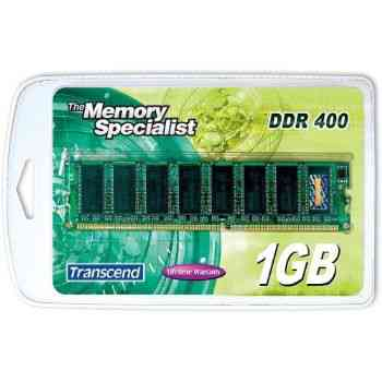 Memoria Transcend Ddr 1gb 400mhz Pc3200