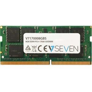 Ver MEMORIA V7 SODIMM DDR4 8GB 2133MHZ CL15 PC4 17000