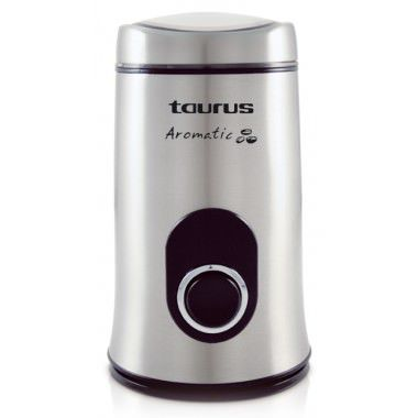 Ver MOLINILLO DE CAFE TAURUS AROMATIC ACERO INOXIDABLE