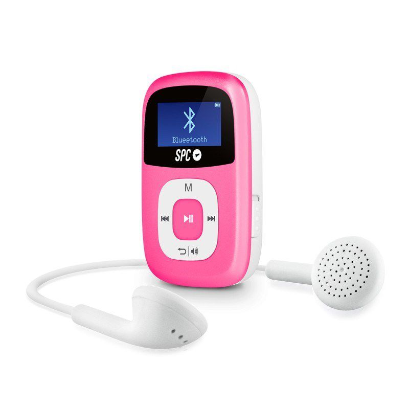 Ver MP3 SPC FIREFLY POWER PINK 8GB