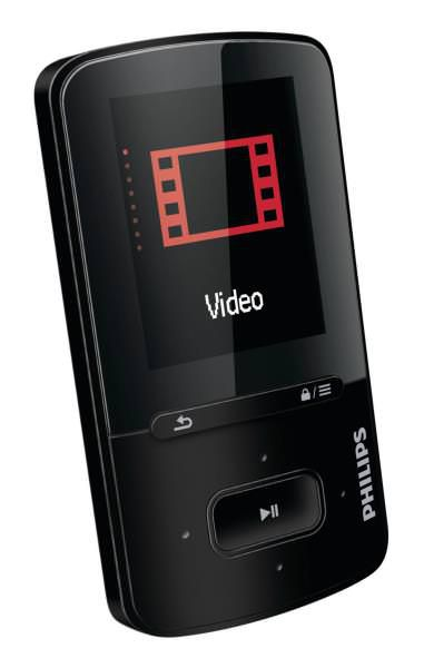 Ver MP4 PHILIPS GOGEAR 4GB NEGRO